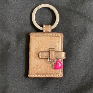 Coach Picture Frame Keyfobs